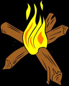 campfire sketch