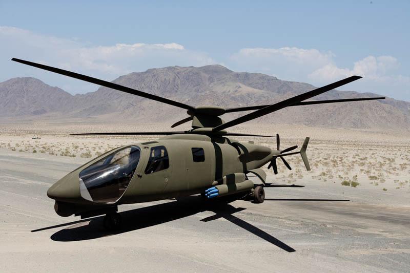 High speed military chopper